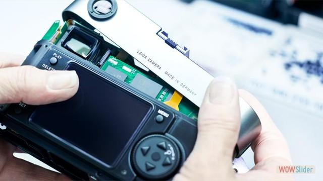 Ремонт цифровых фотоаппаратов и камер